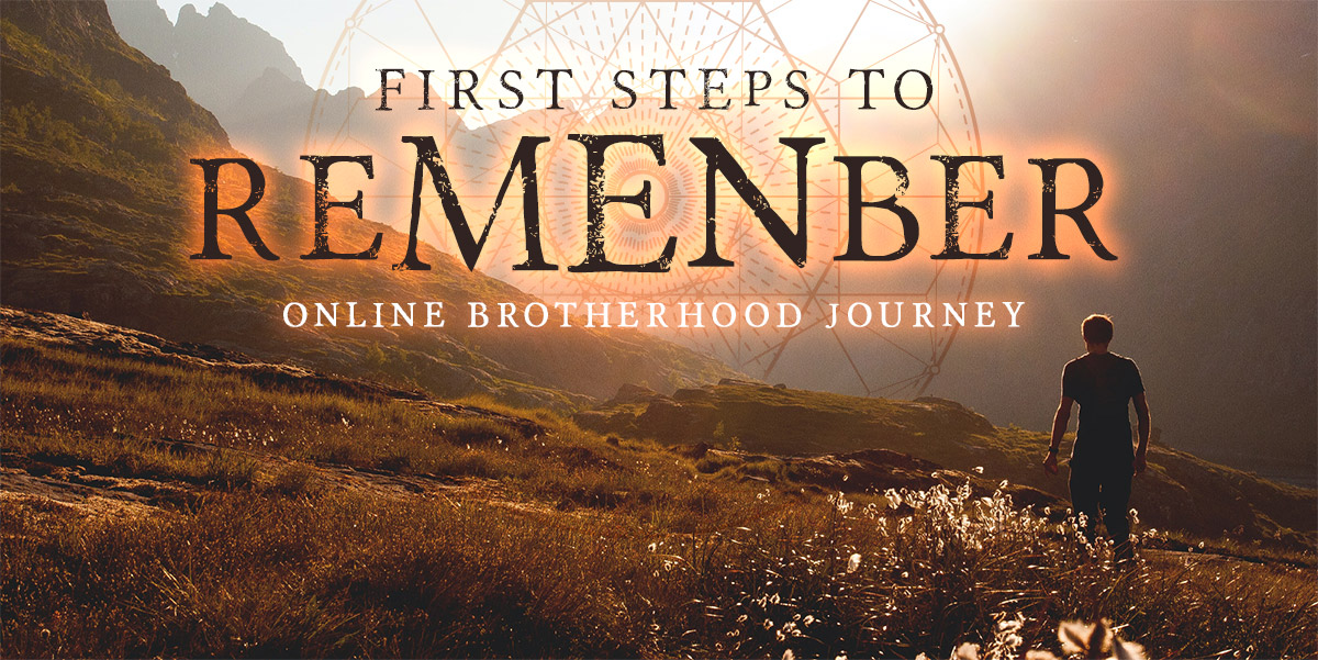 First steps to reMENber - OCT 2-4 & NOV 1, 2020